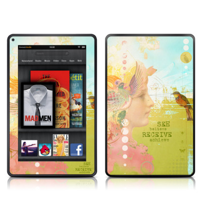 Kindle Fire Skin - See Believe