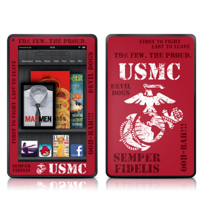 Kindle Fire Skin - Semper Fi