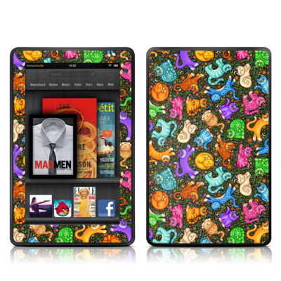 Kindle Fire Skin - Sew Catty