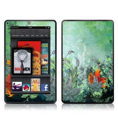Kindle Fire Skin - Sea Flora