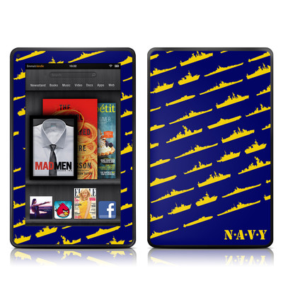 Kindle Fire Skin - Ships
