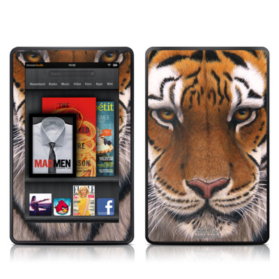Kindle Fire Skin - Siberian Tiger