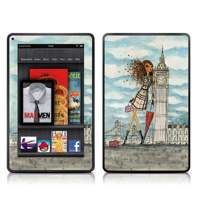 Kindle Fire Skin - The Sights London
