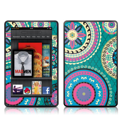 Kindle Fire Skin - Silk Road