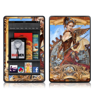 Kindle Fire Skin - Steam Jenny