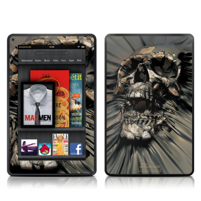 Kindle Fire Skin - Skull Wrap