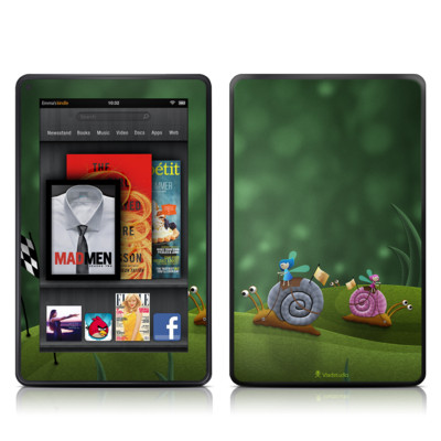 Kindle Fire Skin - Snail Race
