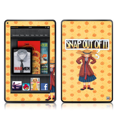 Kindle Fire Skin - Snap Out Of It