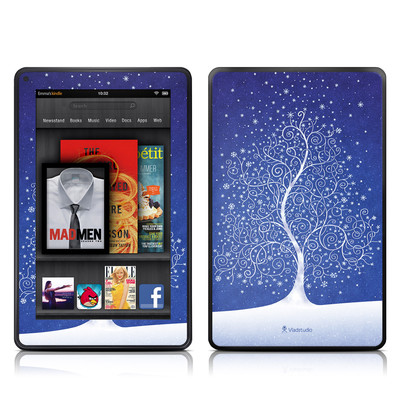Kindle Fire Skin - Snowflakes Are Born