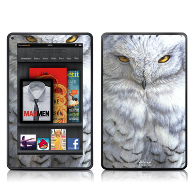 Kindle Fire Skin - Snowy Owl