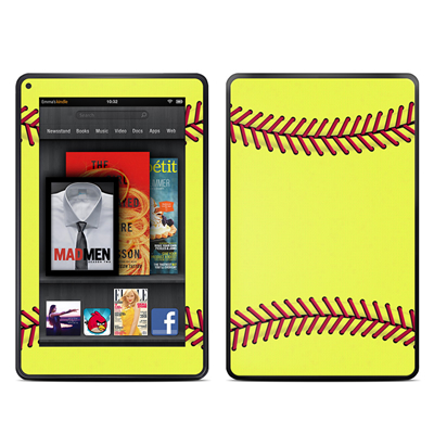 Kindle Fire Skin - Softball