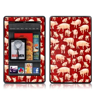 Kindle Fire Skin - Some Pig
