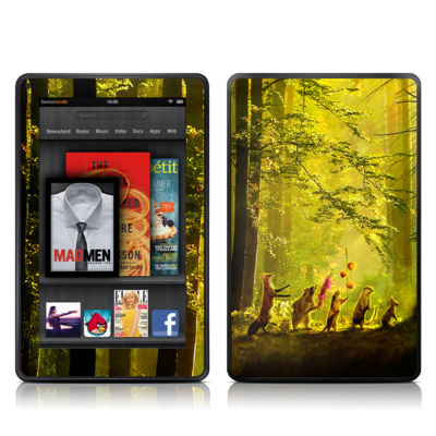 Kindle Fire Skin - Secret Parade