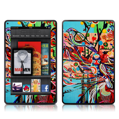 Kindle Fire Skin - Spring Birds