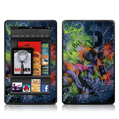 Kindle Fire Skin - Speak