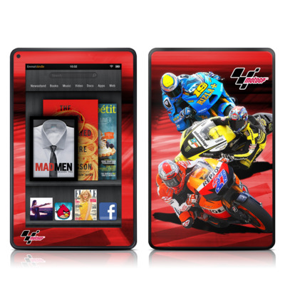 Kindle Fire Skin - Speed Collage
