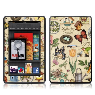 Kindle Fire Skin - Spring All