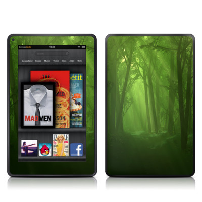 Kindle Fire Skin - Spring Wood