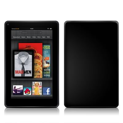 Kindle Fire Skin - Solid State Black