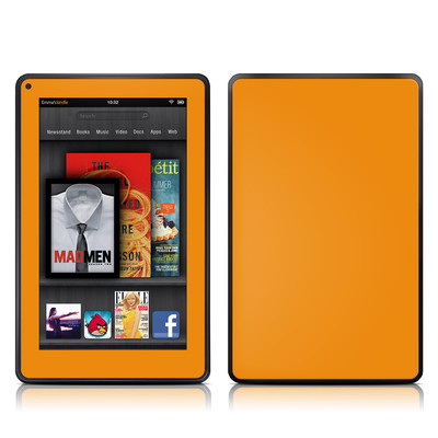 Kindle Fire Skin - Solid State Orange