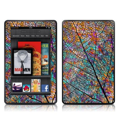 Kindle Fire Skin - Stained Aspen