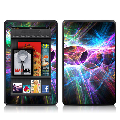Kindle Fire Skin - Static Discharge