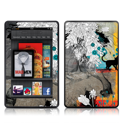 Kindle Fire Skin - Stay Awhile