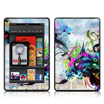Kindle Fire Skin - Streaming Eye