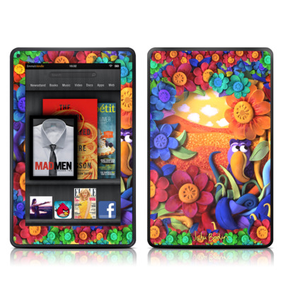 Kindle Fire Skin - Summerbird