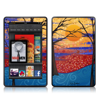 Kindle Fire Skin - Sunset Moon