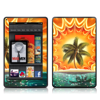 Kindle Fire Skin - Sundala Tropic