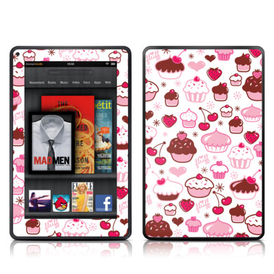 Kindle Fire Skin - Sweet Shoppe