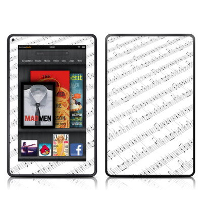 Kindle Fire Skin - Symphonic