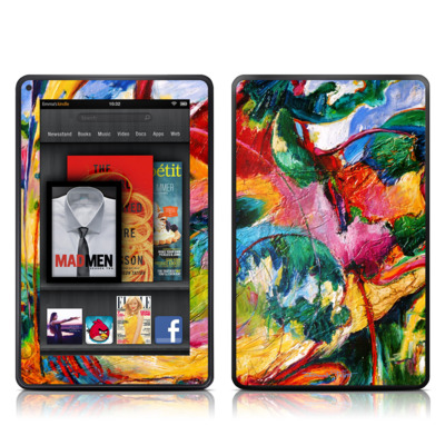 Kindle Fire Skin - Tahiti