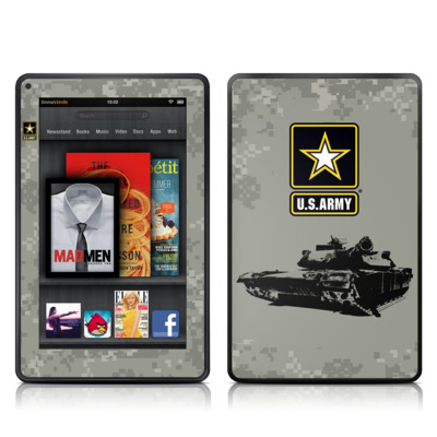 Kindle Fire Skin - Tank Tuff