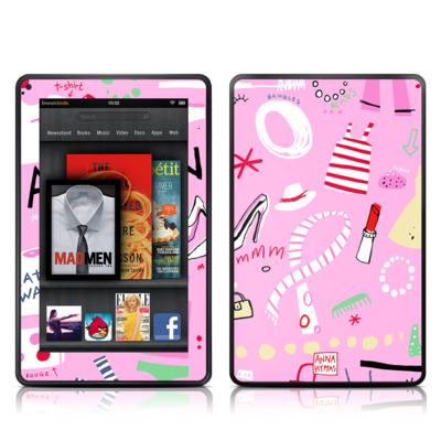 Kindle Fire Skin - Tres Chic