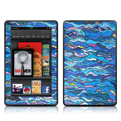 Kindle Fire Skin - The Blues