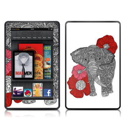 Kindle Fire Skin - The Elephant