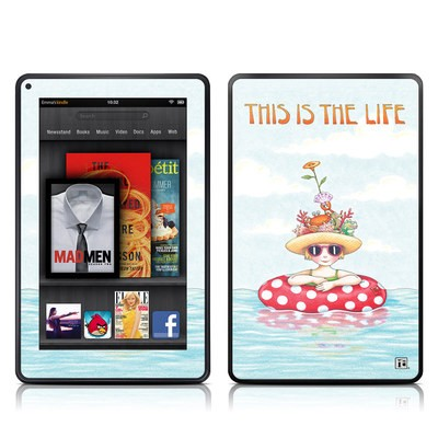 Kindle Fire Skin - This Is The Life