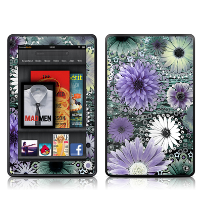 Kindle Fire Skin - Tidal Bloom
