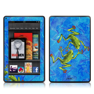 Kindle Fire Skin - Tiger Frogs