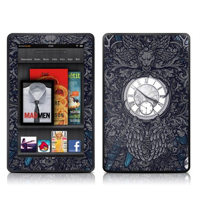 Kindle Fire Skin - Time Travel