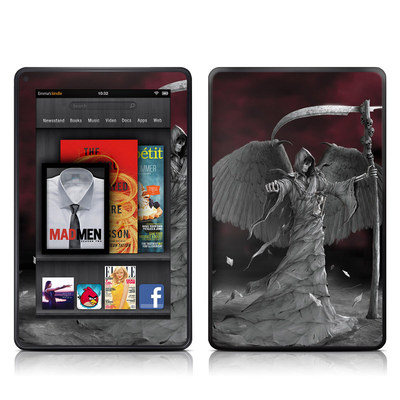Kindle Fire Skin - Time is Up
