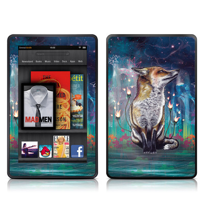 Kindle Fire Skin - There is a Light