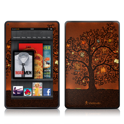 Kindle Fire Skin - Tree Of Books