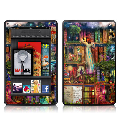 Kindle Fire Skin - Treasure Hunt