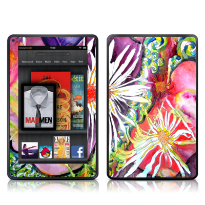 Kindle Fire Skin - Truffula