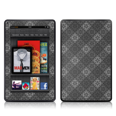 Kindle Fire Skin - Tungsten