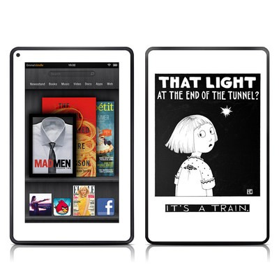 Kindle Fire Skin - Train Tunnel