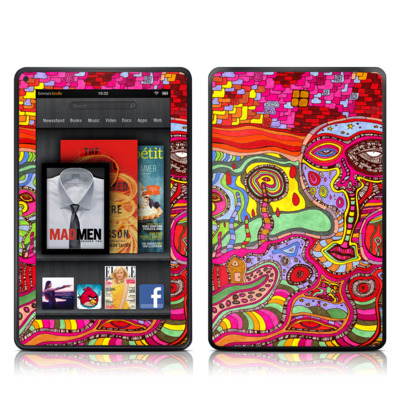 Kindle Fire Skin - The Wall